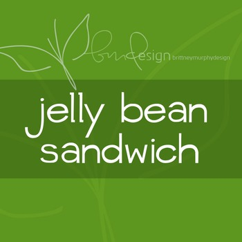 Jelly Bean Sandwich Font for Commercial Use