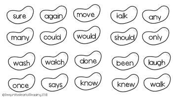Jelly Bean Sight Words