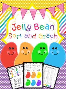 Jelly Bean Sort and Graph Math Activity