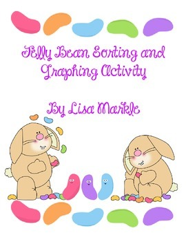 Easter Jelly Bean Math Sorting and Graphing Activity for P