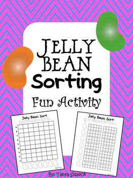 Jelly Bean Sorting and Graphing Math Activity