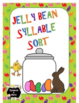 Jelly Bean Syllable Sort
