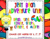Jelly Bean Unit {Worksheets, Centers, Graphic Organizers, & More! for K, 1, 2}