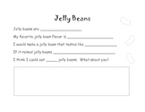 Jelly Bean Writing