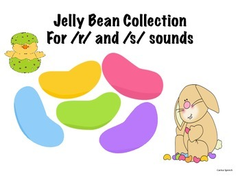 Jelly Bean collection for /r/ and /s/ sounds