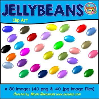 Jellybean Jelly Beans Clip Art for Teachers