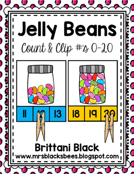 Count and Clip Cards 0-20