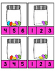Jelly Beans~ Count and Clip Cards