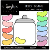 Jelly Beans Clipart {A Hughes Design}