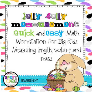 Jelly Belly Measurment {Math Workstation}