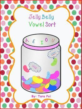 Jelly Belly Vowel Sort - Letter U
