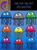 Jelly Fish Clip Art  Color Images