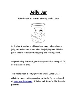 Jelly Jar Book
