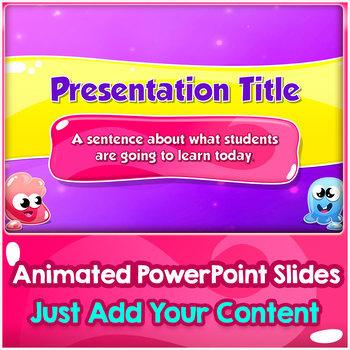 Jelly Monsters Visual PowerPoint Builder