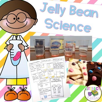 Jelly Bean Science {Easter Science and States of Matter Snacks}