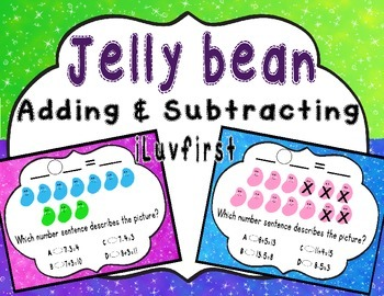 Jelly bean adding & subtracting