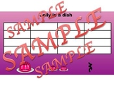 Jelly in a Dish: Iconic Notation
