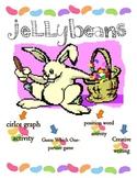 Jellybean Activities-Circle Graph, Creative Writing, Posit
