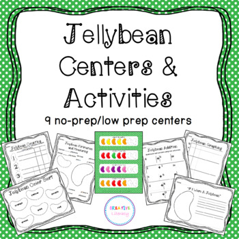 Jellybean Centers and Activities