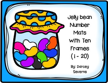 Jelly bean Counting Mats 1-20