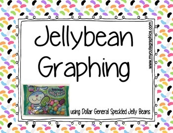 Jellybean Graphing & Sorting for 3rd Grade