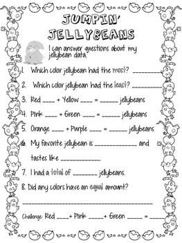 Jellybean Graphing-Starburst Jellybeans