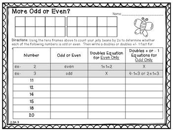 Jellybean Math! {Activites for 2nd Grade}