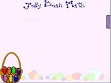 Jellybean Math - Easter Smart Board lesson with printable worksheets