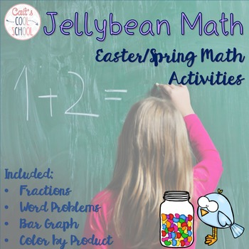 Jellybean Math {Fractions, Graphing, Word Problems}