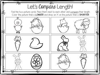 Jellybean Measurement {Easter Themed Math Center} {CCSS}