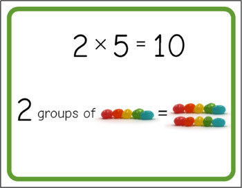 Jellybean Multiplication Poster Bundle