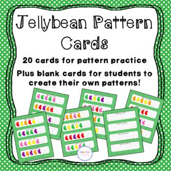 Jellybean Pattern Cards