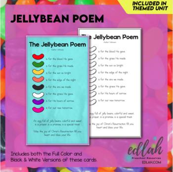 Jellybean Prayer Card