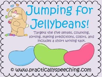 Jellybean Sorting and Five Senses Packet