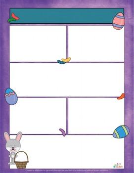 Jellybean/Easter Bunny Newsletter for Word_Generation 1