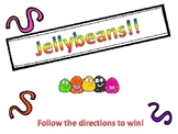 Jellybeans! A game where you follow directions to win!