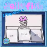 Ocean Animals - Jellyfish Writing Flap Books!