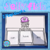 Ocean Animals - Jellyfish Writing Flap Books!