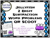 Jellyfish 2 Digit Subtraction Word Problems