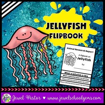 Jellyfish Science Activities (Jellyfish Research Flipbook)