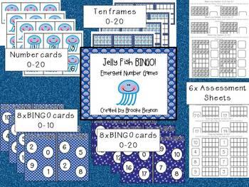 Jellyfish BINGO - Emergent Number Games