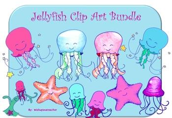 Jellyfish Clip Art Bundle