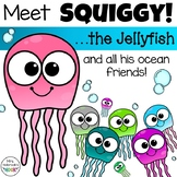 Jellyfish Clipart: Meet Squiggy and His Friends!