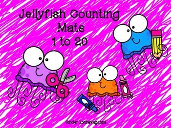 Jellyfish Counting Mats