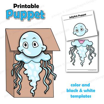 Jellyfish Craft Activity | Paper Bag Puppet