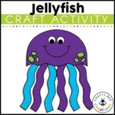 Jellyfish Craft   Ocean Animals Activity   Sea Life   Ocean Habitat Activities