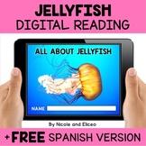 Jellyfish Digital Reading Comprehension for Google Classroom