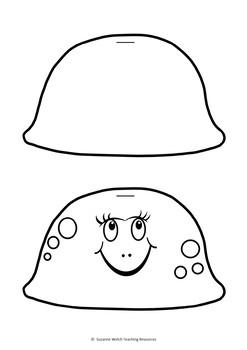 Jellyfish - Flip Book Craftivity