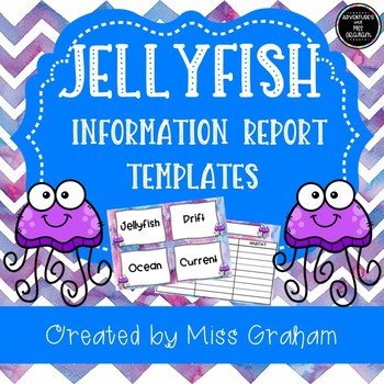 Jellyfish Information Report Writing Activity