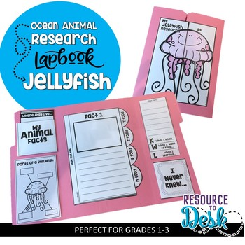 Jellyfish Research Project - An Ocean Animal Research Lapbook